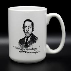 Mug: Lovecraft - I like coffee exceedingly...