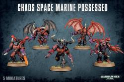 Possessed Space Marines Unit box 2007