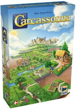 Carcassonne Grundspel (Skandinavisk Utgåva)