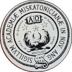 Miskatonic University Sticker