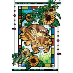 My Neighbor Totoro Artcrystal Puzzle Catbus and Sunflowers 126pc