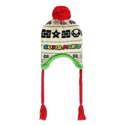 Super Mario Ski Beanie Blocks & Power ups Laplander