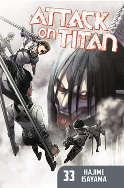 Attack on Titan vol 33