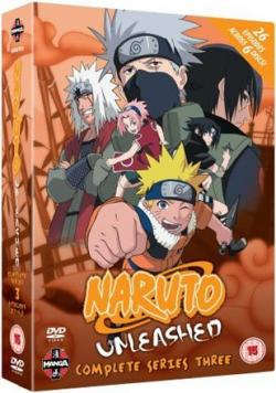 Naruto Unleashed Complete Series 3