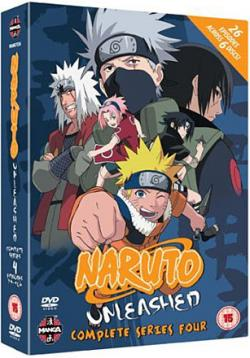 Naruto Unleashed Complete Series 4