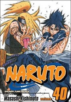 Naruto Vol 40