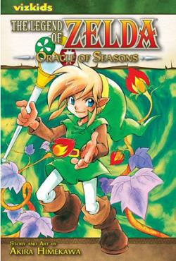 The Legend of Zelda Vol 4: Oracle of Seasons