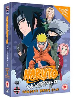 Naruto Unleashed Complete Series 5