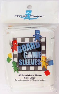 Boardgame Sleeves Large Clear (59*92mm)