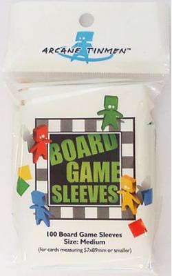 Boardgame Sleeves Medium (57*89mm)