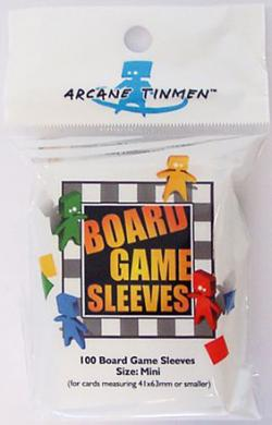 Boardgame Sleeves Mini Clear (41*63mm)