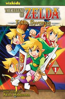 The Legend of Zelda Vol 6: Four Swords 1
