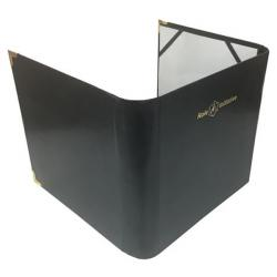 Faux Leather Gamemaster Screen and Accessories Portfolio