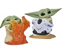The Child Bounty Collection Figure 2-Pack 5: Helmet Hiding & Fire