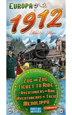 Ticket to Ride - Europa 1912 Expansion