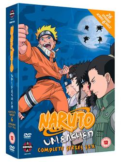 Naruto Unleashed Complete Series 6