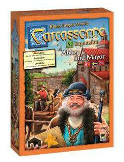 Carcassonne expansion 5 - Abbey & Mayor (svensk)