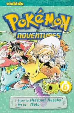 Pokemon Adventures Vol 6