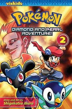 Pokemon Diamond and Pearl Adventure! Vol 2