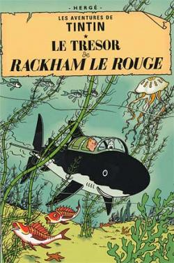 Vykort - Le tresor de Rackham le Rouge