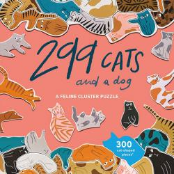 299 Cats (and a dog) Cluster Puzzle