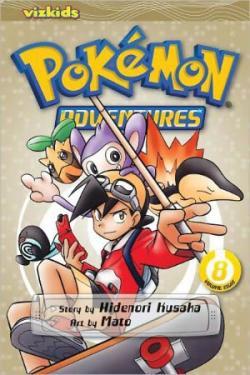 Pokemon Adventures Vol 8