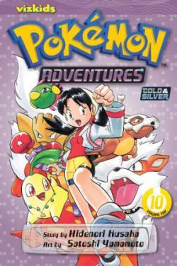 Pokemon Adventures Vol 10