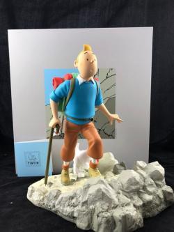 Samlarfigur - Tintin vandrare