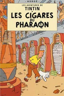 Vykort - Les cigares du pharaon