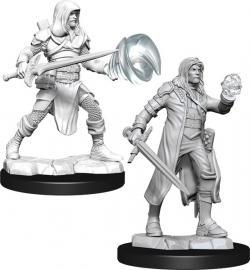 Human Multiclass Fighter/Wizard Male