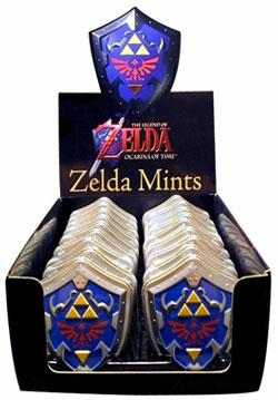 Nintendo Tins The Legend of Zelda Mints