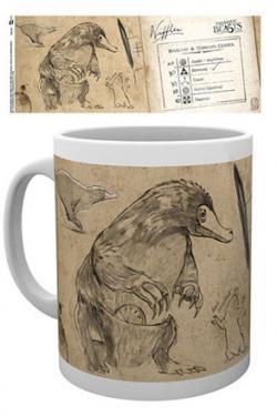 Fantastic Beasts Mug Nifflers Sketch