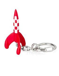 Nyckelring - Raket 5, 5 cm
